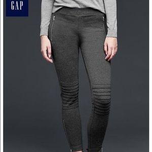 Gap Moto Zip Knit Legging